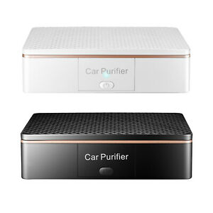 Vehicle Car Air Purifier Air Cleaner Ionizer USB Charging for Home Office