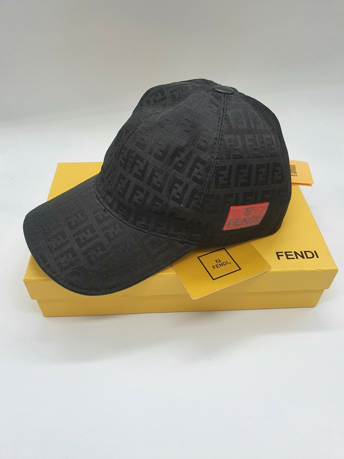 FENDI Neu Herren Cap Damen HUT UNISEX CAP FENDI BOX