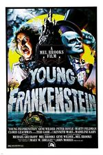 GENE WILDER MADELINE KAHN young frankenstein 1974 movie poster 24X36 CAMPY