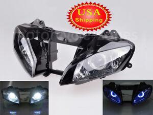 LED Headlight Bulb Yamaha R6 1998 1999 2000 2001 2002 HID 35W White