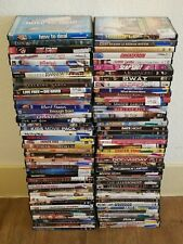 Lot of 70 Used ASSORTED DVD Movies - 70 Bulk DVDs - Used DVDs Lot - Wholesale