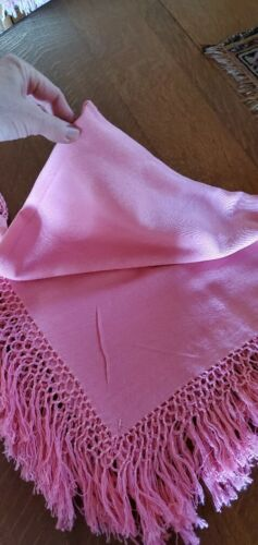 Vintage laise adzer wrap scarf