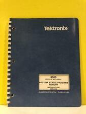 Tektronix 070 3923 00 8500 64k128k Static Program Memory Installservice Manual