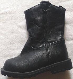 1604f0a48e5 Details about Boots Cowboy Healthtex infant boys girls size 4M black man  made materials
