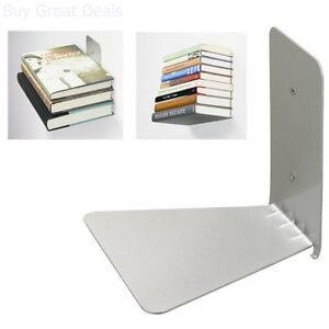 Wall Book Shelf Small Conceal Wall Mounted Stand Invisible