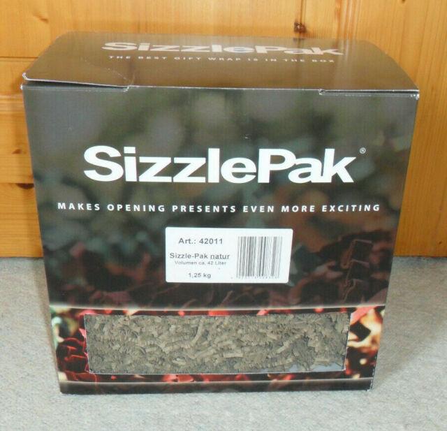 Füllmaterial Sizzle Pak natur 1,25 kg Art.Nr. 42011 *NEU* für ca. 42 Liter