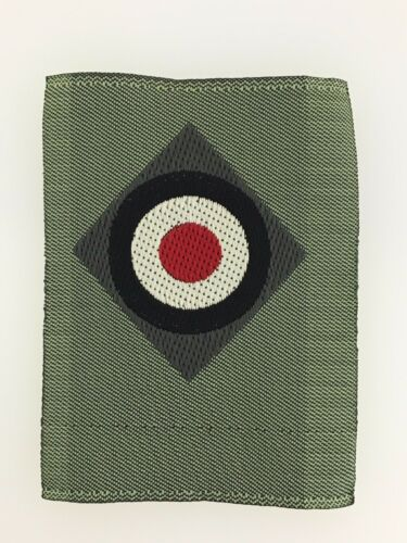 Germany//German WWII Army or Heer silk woven or 'Be-vo' cockade cloth badge