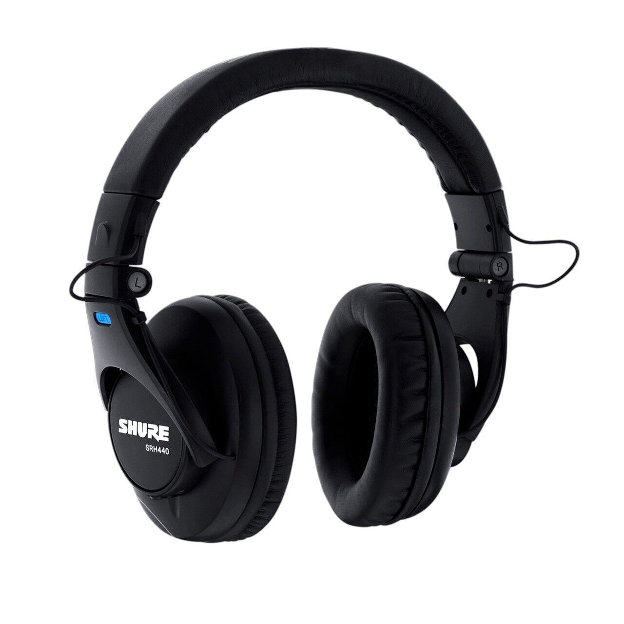 Shure SRH440 Headphones for Studio Live Monitoring