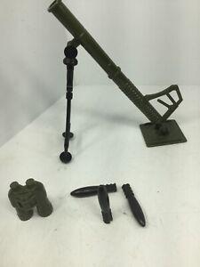 Details about 1/6 MORTAR SET +3 ROUNDS & BINOCULARS HASBRO GI JOE DRAGON  BBI 21ST CENT WW2