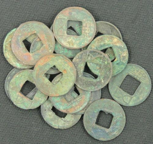 RARE 10 Pcs CHINA Ancient Coins Han Dynasty BC.206--AD.220