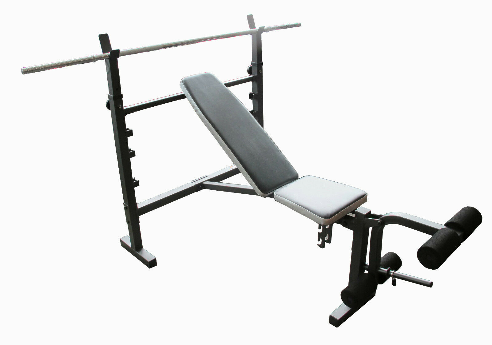 Wide adjustable flat incline decline bench press home gym exercise accessories ebay - Incline and decline bench press ...