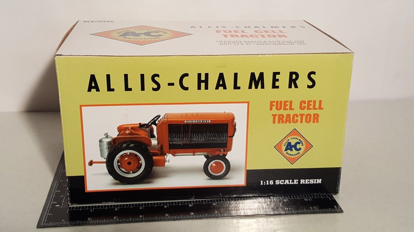 Allis Chalmers Fuel Cell Tractor 1 16 resin replica collectible by SpecCast