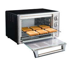 Brand New Convection 6 Slice Countertop Toaster Oven Stainless Steel Fast Ship