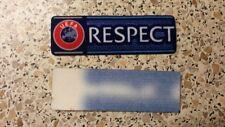 Bundesliga Uefa Pokal 2012-16 Logo Respect Patch Badge Lextra  Spielertrikot!