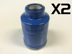 8AN 8 AN New Proflow Competition Billet Reusable Fuel Filter 30 Micron Blue