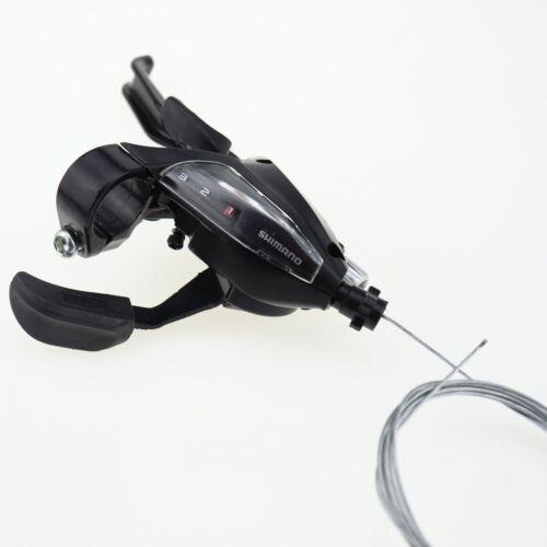 New 1 pairs Shimano ST-EF500 3x7 Speed MTB Bike Brake Levers Set Shifter Shift