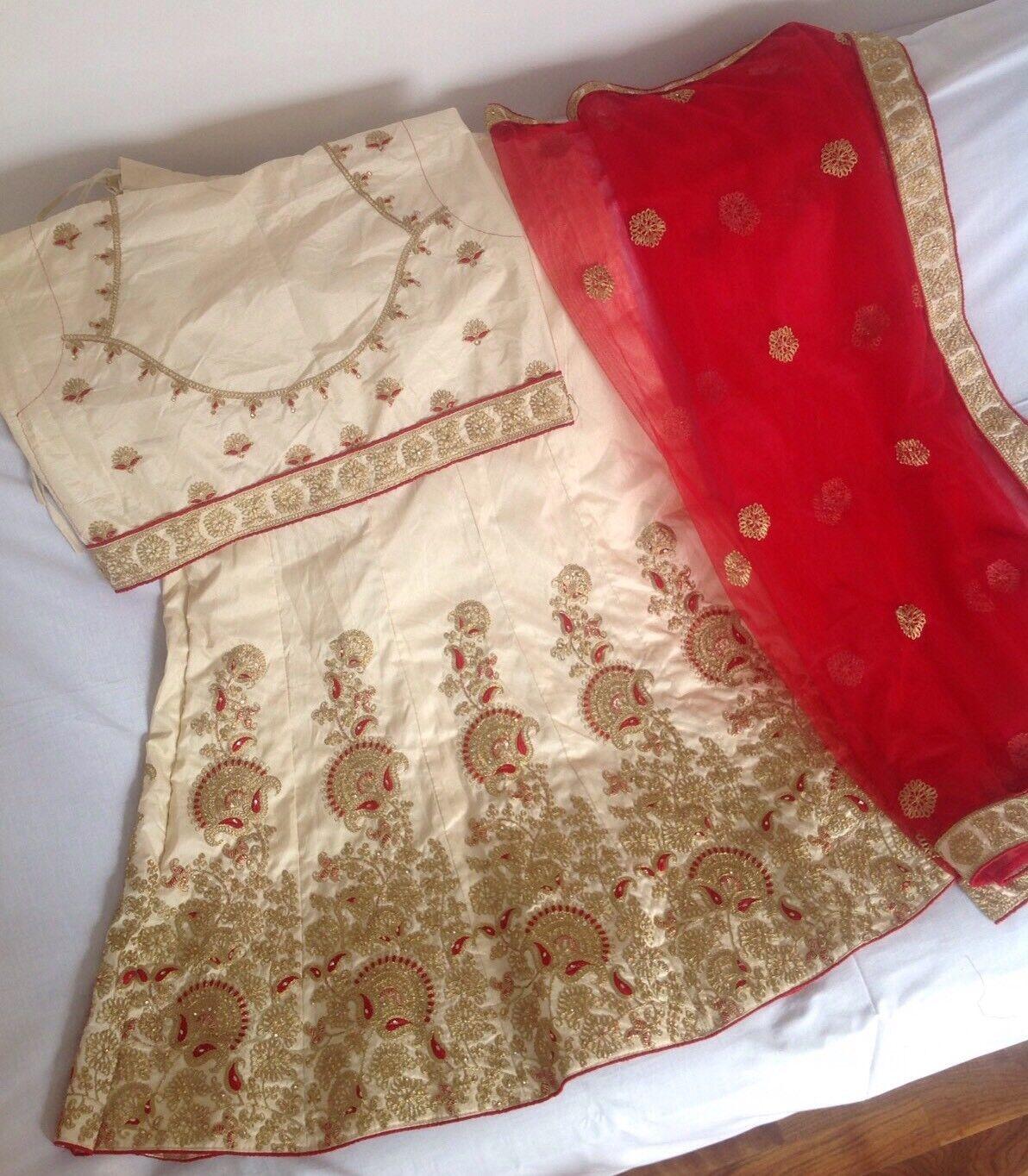 Indian Wedding Lehnga Unstitched Blouse Designer Wedding Dress Pakistani Wedding