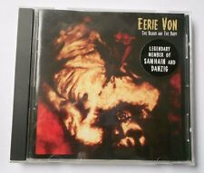 The Blood and the Body by Eerie Von CD 1999 Rare Danzig Samhain