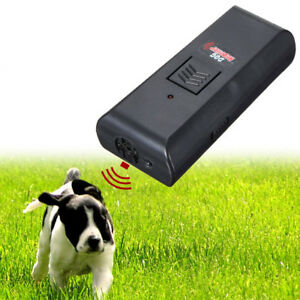 Details about Ultrasonic Anti Bark Barking Stop Dog Training Device Sound  Repeller Trainer