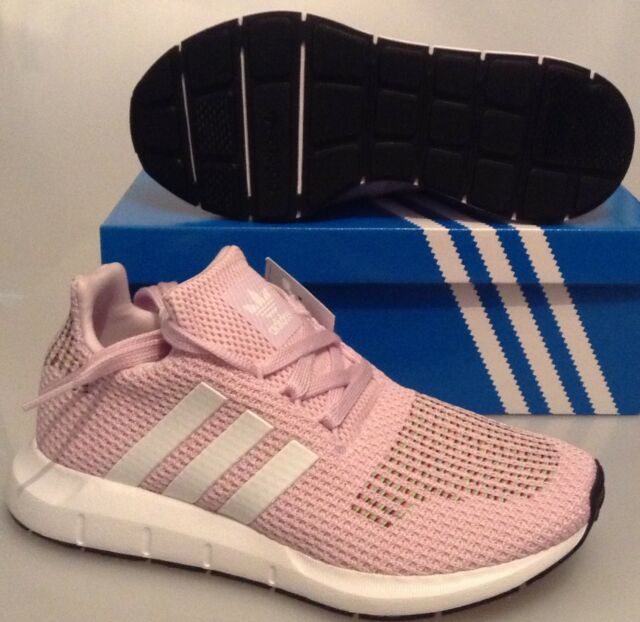 bae44e062f433 adidas Swift Run Womens Pink Multicolour Mesh   Synthetic Trainers ...