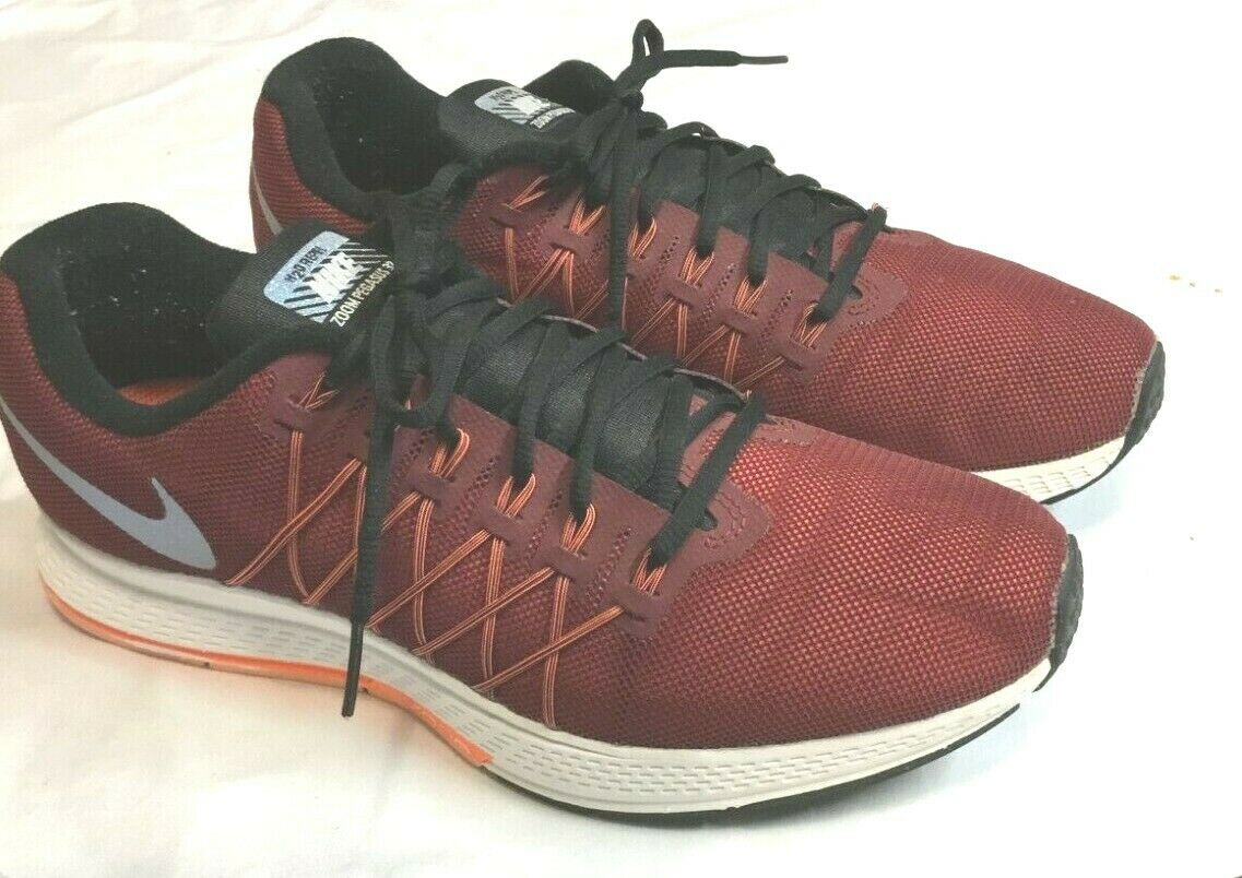 Casa de la carretera Escarpa engañar  Mens NIKE AIR ZOOM PEGASUS 32 FLASH H20 REPEL Red Running Shoes Size 10 for  sale online