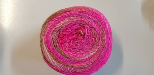 Panda Crypto 8 Ply #2 Rose Garden Pink Mix 150g Acrylic