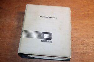 RARE-VTG-Osborne-Computer-Dbase-II-Assembly-Language-Software-Manual-ONLY