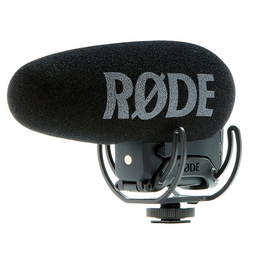 Rode VideoMic Pro+ Compact Directional On-camera Microphone, New