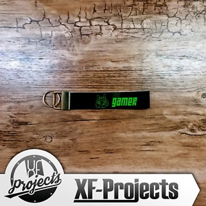 Pro-Gamer-Lanyard-Schluesselband-Gaming-Schluesselanhaenger-XF-Projects