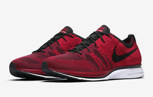 bd90aff7abe0d NIKE FLYKNIT TRAINER MEN S RUNNING SHOES AH8396-601 UNIVERSITY RED ...