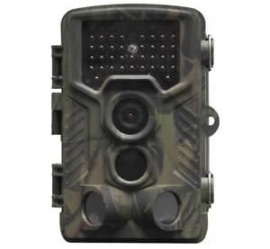 Denver WCT-8010 Wildkamera Bewegungssensor Display Jagdkamera FullHD Infrarot