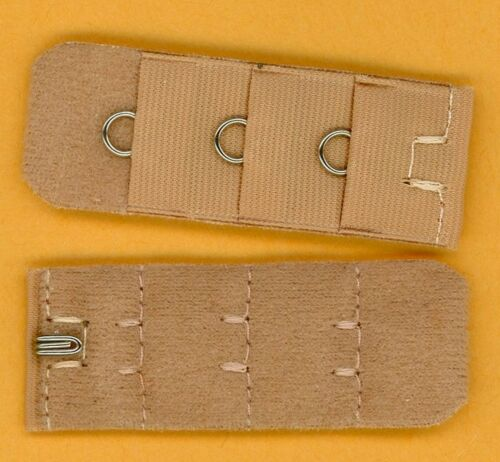 """1 Extension for a 1 hook 3 loops Bra Extenders back add on = 1 3//4/"""" B-4-1"""