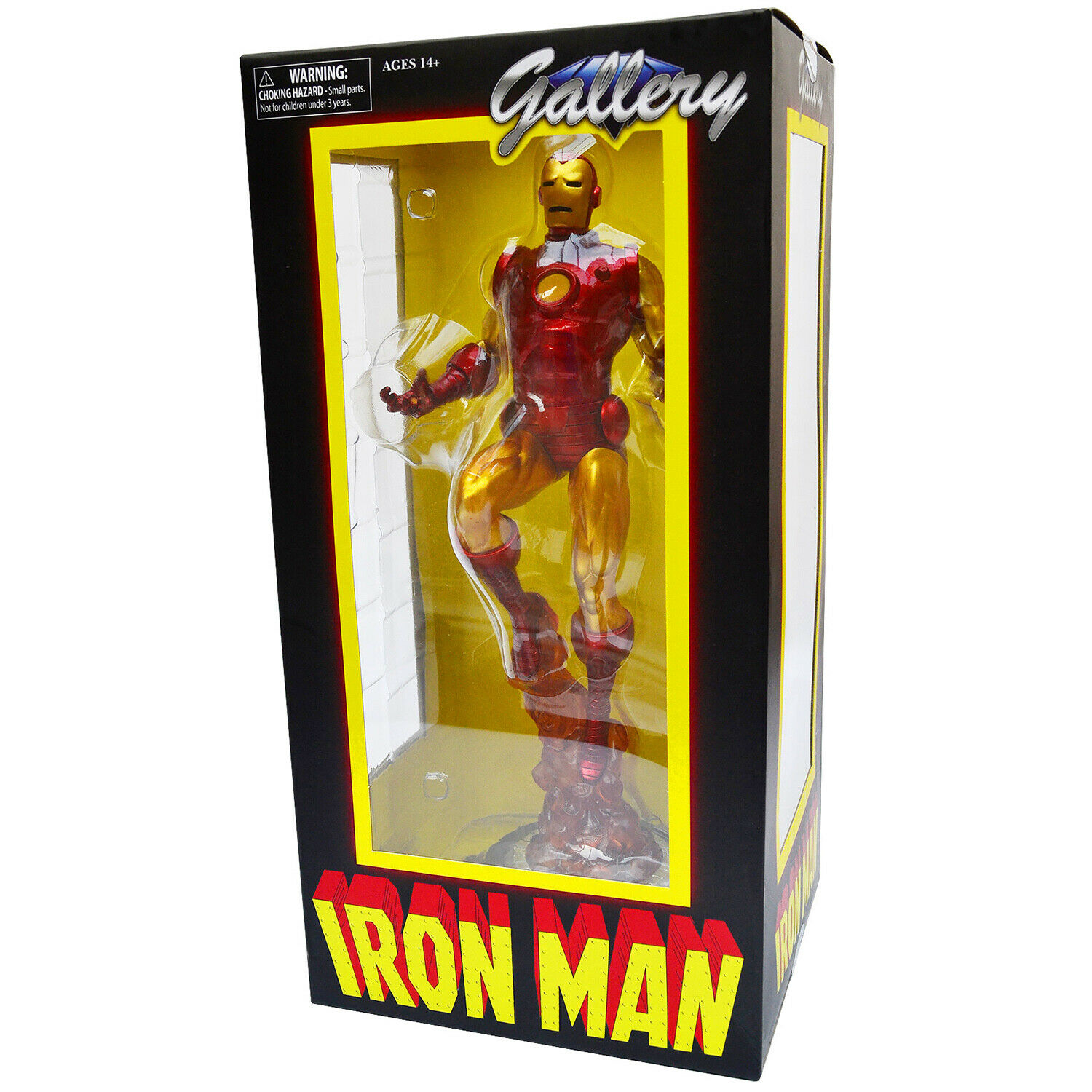 Diamond Select Gallery Iron Man Retro Marvel Coleccionable De 11  Estatua PVC  Nuevo En Caja Sellada