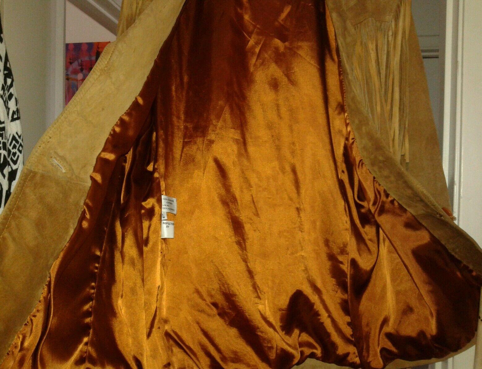la nauicelle Renaissance Leather fringed Jacket - image 9