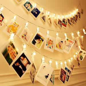 20-LED-Card-Photo-Clip-String-Fairy-Lights-Battery-Christmas-Party-Wedding-light