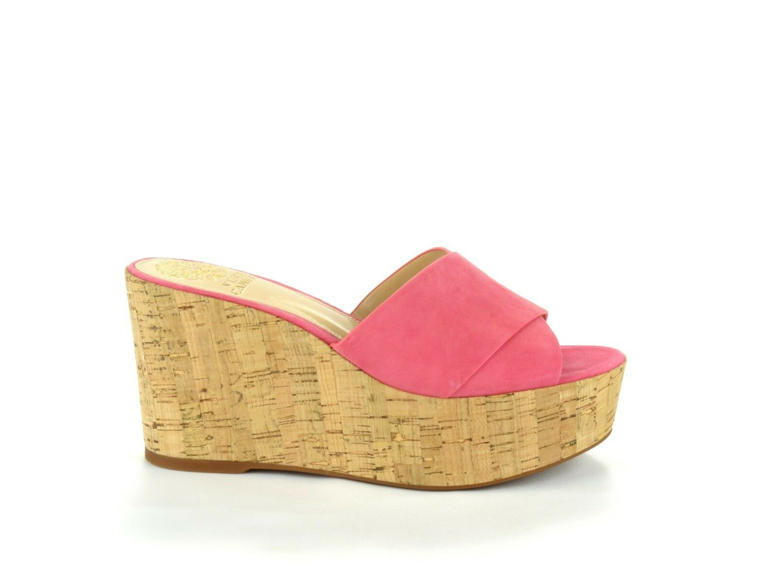 aa2fac6ca86 Buy Vince Camuto Kessina Soft Pink True Suede Leather Cork Platform ...