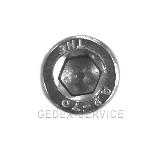 Zylinderschrauben Innensechskant  DIN 912 2x16 EDELSTAHL M2x16 25 St
