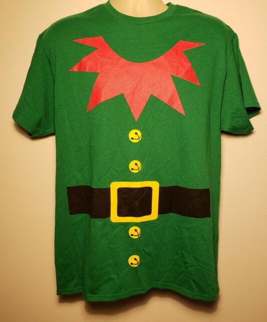 ELF CHRISTMAS ADULT MENS T-SHIRT