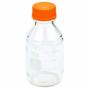Details about PYREX 500mL Round Media Storage Bottles, with GL45 Screw Cap  (Single)