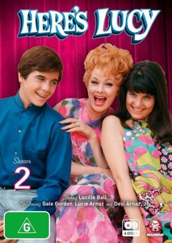 1 of 1 - Here's Lucy : Season 2 (DVD, 2010, 4-Disc Set)-FREE POSTAGE