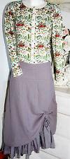 Braintree Rock Skirt Ballonrock  Pebble /Grey  Size: L   Neu