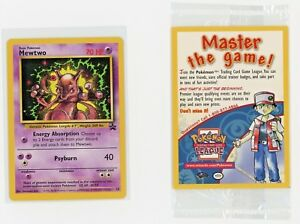 Mewtwo Pokémon Card Black Star Promo # 14 Near Mint Sealed