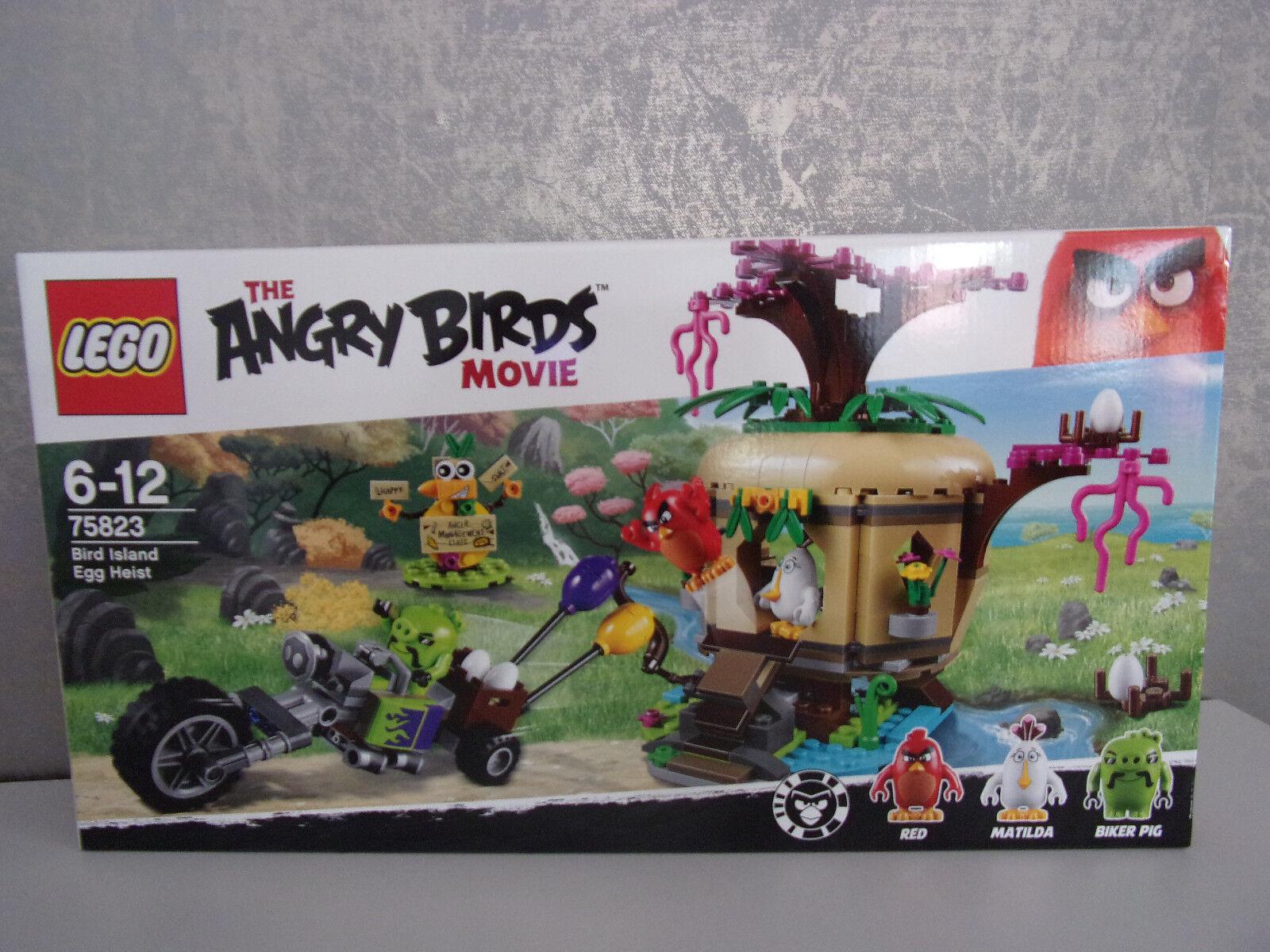 Lego Angry Birds 75823 Bird Island Egg Heist - NEU & OVP