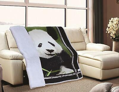 JQ Super Soft Flannel Throw Blanket with Sherpa Lining-Peace Power Patriotism