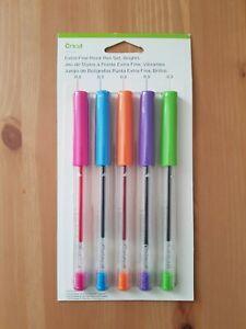 5 pack Free UK p/&p Brights Extra Fine Point Pen Set Cricut Explore Colour
