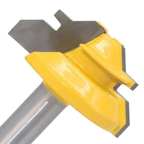 45 Grad 1//2in Lager Fräser Fräser Holzbearbeitung Cutter Werkzeug 8mm Schaft