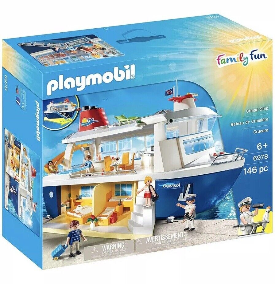 PLAYMOBIL Cruise Ship - Family Fun 6978 Brand New In Box