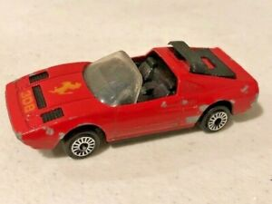 Rare Zylmex Zee Toys Ferrari 308 #D77 Red Die cast 1//64 Sports Car Vintage