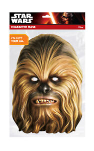 Disney Star Wars Darth Vader Face Party Mask Card A4 Fancy Dress Film Ladies Kid
