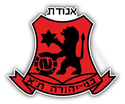 Hapoel Tel Aviv FC Israel Soccer Football Car Bumper Sticker Decal 4/'/' x 5/'/'